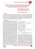 Đề xuất phương pháp tính toán, xây dựng hộ chiếu chống giữ ngã ba lò chợ phù hợp với điều kiện các mỏ than hầm lò vùng Quảng Ninh
