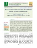 Effect of casein and hydrocolloid on maize dough and Chapati properties