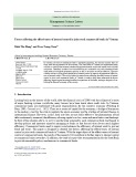 Factors affecting the effectiveness of internal control in joint stock commercial banks in Vietnam