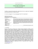 The effect of corporate entrepreneurship, organizational culture on supply chain management and business performance in chemical industry