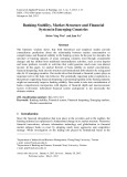 Banking stability, market structure and financial system in emerging countries