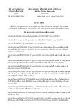 Quyết định 44/2019/QĐ-UBND tỉnh QuảngNinh