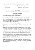 Quyết định 1821/2019/QĐ-TTg