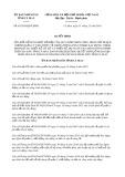 Quyết định 45/2019/QĐ-UBND tỉnh CàMau