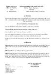 Quyết định 3980/2019/QĐ-UBND tỉnh KhánhHòa