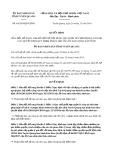 Quyết định 44/2019/QĐ-UBND tỉnh TuyênQuang