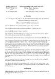 Quyết định 36/2019/QĐ-UBND tỉnh TuyênQuang