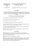 Quyết định 5282/2019/QĐ-UBND tp HồChíMinh