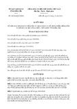 Quyết định 30/2019/QĐ-UBND tỉnh ĐắkLắk