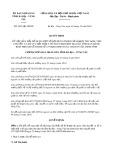 Quyết định 3653/2019/QĐ-UBND tỉnh BàRịa-VũngTàu