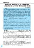 Đặc điểm phát triển thể chất và tình trạng dinh dưỡng của trẻ 2 đến 5 tuổi dân tộc thiểu số Việt Nam, thời điểm 2018