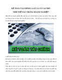 Kế toán tài chính là gì và có vai trò như thế nào trong doanh nghiệp?