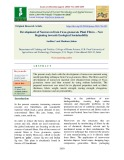 Development of nonwoven from ficus glomerata plant fibres – New beginning towards ecological sustainability