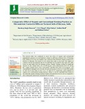 Comparative effect of organic and conventional farming practices on micronutrient content in different textured soils of Haryana, India