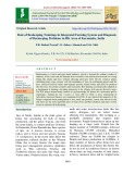 Role of beekeeping trainings in integrated farming system and diagnosis of beekeeping problems in HK area of Karnataka, India