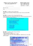 Đề thi thực hành môn Thiết kế Web - Trường CĐN Vĩnh Phúc