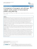 A Comparison of transgenic and wild type soybean seeds: Analysis of transcriptome profiles using RNA-Seq