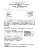 Đáp án đề thi tốt nghiệp cao đẳng nghề khoá I (2007-2010) môn Lý thuyết chuyên môn nghề - Mã đề thi: DA OTO-LT46
