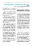Chương trình tầm soát và giám sát bệnh hô hấp ở heo