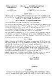 Quyết định 121/2020/QĐ-UBND tỉnh ĐiệnBiên