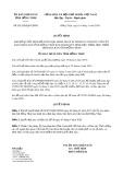 Quyết định 05/2020/QĐ-UBND tỉnh ĐồngTháp