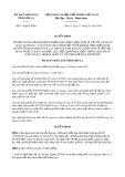 Quyết định 147/2020/QĐ-UBND tỉnh SơnLa