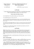 Quyết định 144/2020/QĐ-UBND tỉnh AnGiang