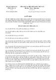 Quyết định 01/2020/QĐ-UBND tỉnh LongAn