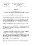 Quyết định 124/2020/QĐ-UBND tỉnh BạcLiêu