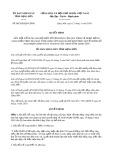 Quyết định 06/2020/QĐ-UBND tỉnh LạngSơn