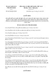 Quyết định 04/2020/QĐ-UBND tỉnh BìnhĐịnh