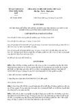 Quyết định 23/2020/QĐ-UBND tỉnh ThừaThiênHuế