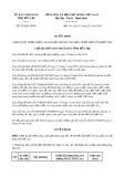 Quyết định 267/2020/QĐ-UBND tỉnh BếnTre