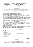 Quyết định 157/2020/QĐ-UBND tỉnh LạngSơn