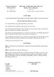 Quyết định 153/2020/QĐ-UBND tỉnh LaiChâu