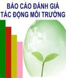Báo cáo đánh giá tác động môi trường cho dự án đầu tư: Nhà máy sàng tuyển cát nguyên liệu CFG