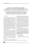 Đánh giá 10 năm thực hiện Chỉ thị 06-CT/TW, ngày 22/01/2002 và đề xuất giải pháp về củng cố, hoàn thiện mạng lưới y tế cơ sở trong thời gian tới