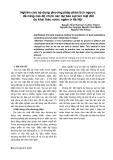 Nghiên cứu áp dụng phương pháp phân tích ngược để nâng cao độ chính xác dự báo sụt lún mặt đất do khai thác nước ngầm ở Hà Nội