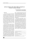 Kết quả đánh giá thực hiện chính sách thuốc quốc gia giai đoạn 1996-2010