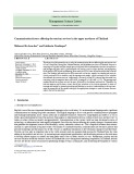 Communication factors affecting the tourism services in the upper northeast of Thailand
