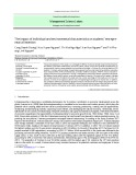 The impact of individual and environmental characteristics on students' entrepreneurial intention