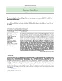 The moderating effect of psychological factors on consumer of electric and hybrid vehicles' response purchase decisions
