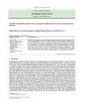 The effect of agricultural land recovery on people's livelihoods in the context of urbanization in Vietnam
