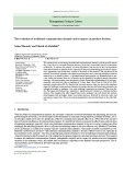 The evaluation of traditional communication channels and its impact on purchase decision