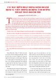 Các đặc điểm hoạt động kinh doanh dịch vụ viễn thông di động ảnh hưởng tới kế toán doanh thu
