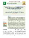 Estimation of evapotranspiration using CROPWAT 8.0 model for shipra river basin in Madhya Pradesh, India