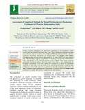 Assessment of empirical methods for runoff estimation in Chaskaman catchment of Western Maharashtra, India