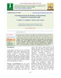 Constraints faced by the members of women dairy cooperatives in Karnataka, India