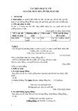 Giáo án Ngữ văn lớp 6 - Các biện pháp tu từ: So sánh, nhân hóa, ẩn dụ, hoán dụ