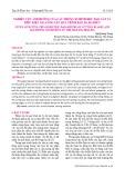 Nghiên cứu ảnh hưởng của các thông số hình học dao cắt và điều kiện gia công lên quá trình bào da Đà điểu